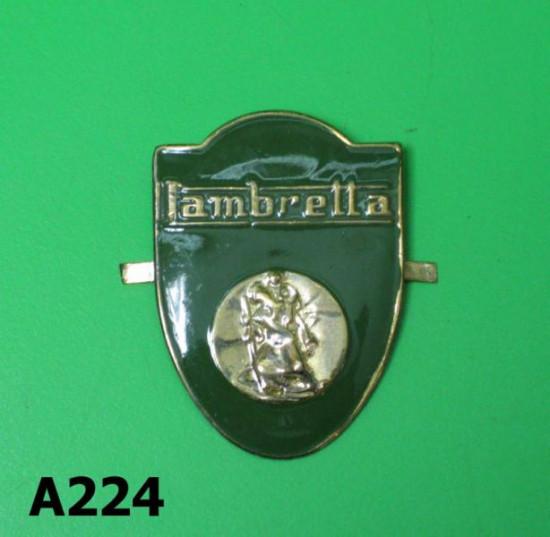 Lambretta San Cristoforo badge