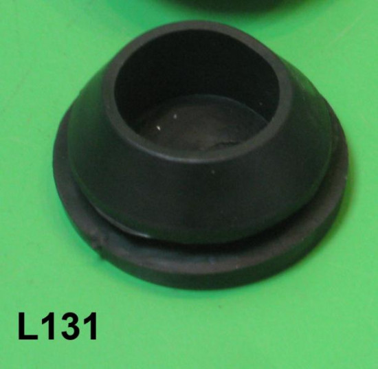 Clutch + gearchange + throttle outer cables rubber protection frame grommet