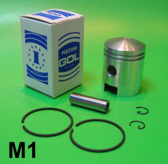 Complete 125cc piston kit for Lambretta A + B + C + LC + D + LD 125cc