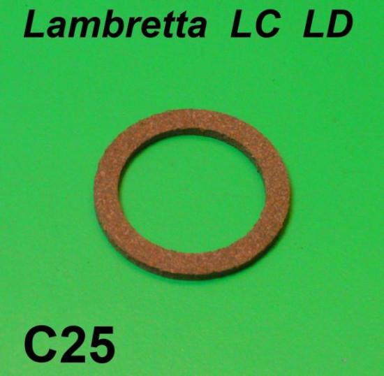 Cork sealing ring for petrol tank collar