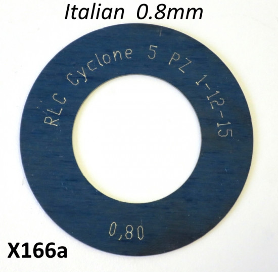High quality Italian made 0.8mm 1st gear shim