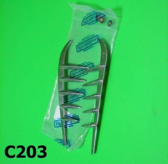 Coppia fregi per cofani laterali Lambretta J50 Special