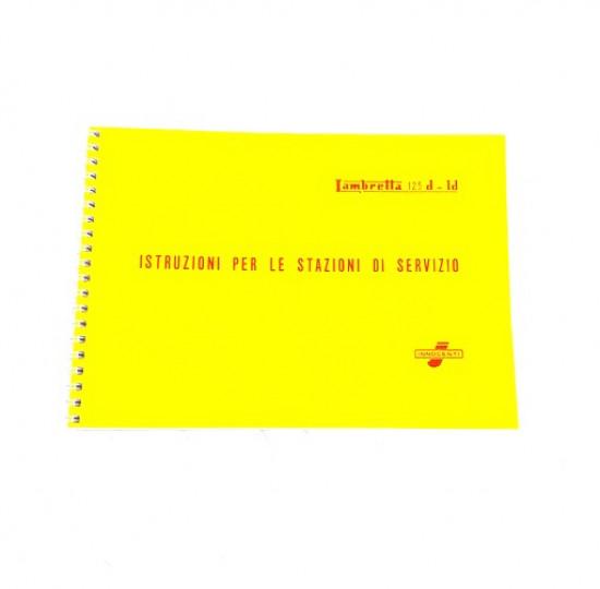 Workshop manual Lambretta D125 LD125