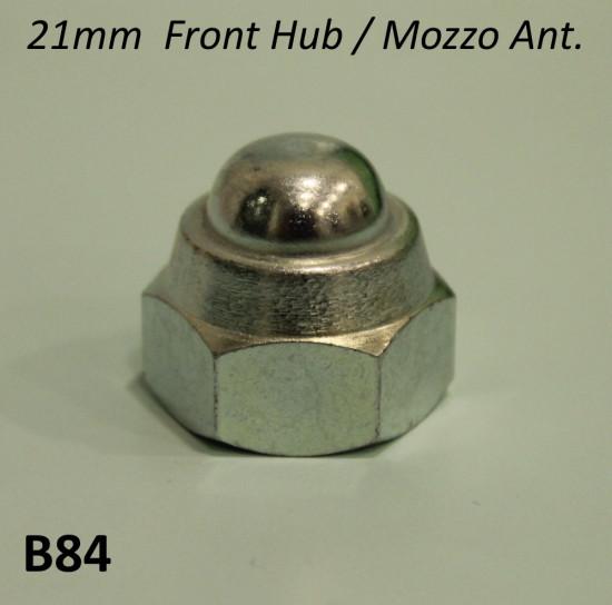 Front hub nut