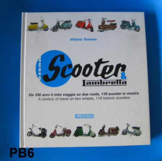 'Scooter & Lambretta' Museum book by Vittorio Tessera