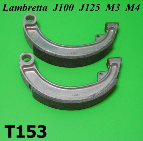 Pair of brake shoes J100 Cento J125