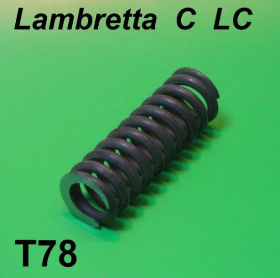 Large rear suspension spring