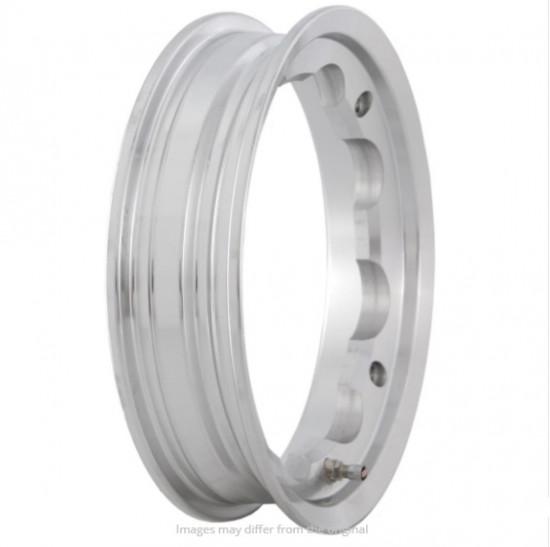 SIP Polished alloy tubeless wheel rim Lambretta S1 + S2 + S3 + GP + Serveta