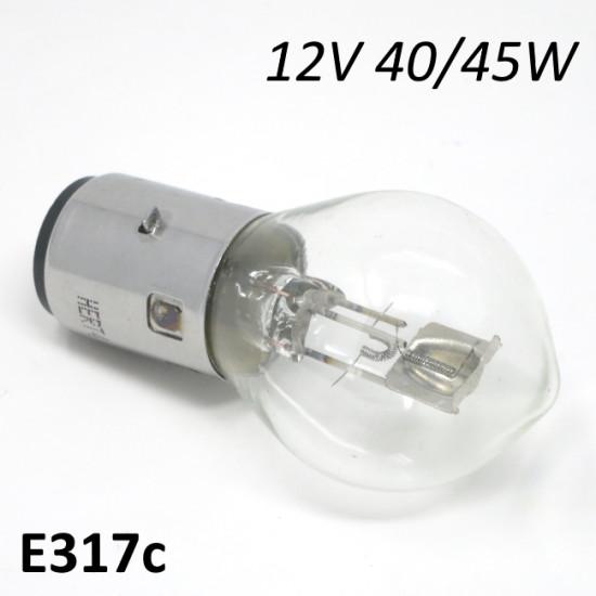 12V 40/45W headlight bulb (for 12V ignitions)