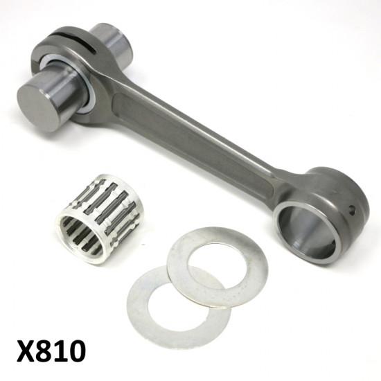 Complete race quality con rod kit for Lambretta J125 M4 Starstream + Casa Performance crank X810