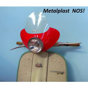ORIGINAL NOS 60's Metalplast flyscreen for Lambretta + Vespa