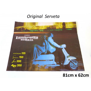 Original Serveta publicity poster