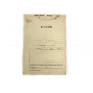 Innocenti Italian dealer Lambretta bulletin