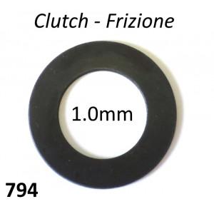 1.0mm Clutch shim Lambretta S1 + S2 + S3 + SX + DL / GP