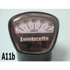 140km speedometer for Lambretta GP DL200