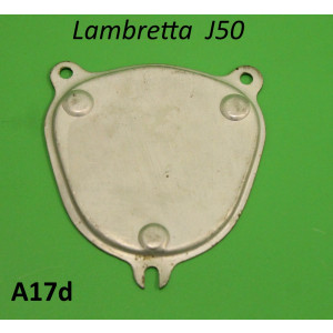 Support plate (NOS Innocenti) to fix plastic speedo blanking piece A26 for Lambretta J50