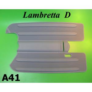 Grey rubber mats Lambretta D