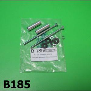 HT coil screws + spacers set Lambretta S3 + SX + DL/GP + Serveta