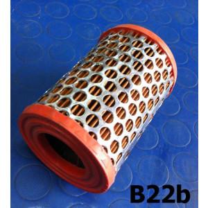 Cylindrical air filter cartridge Lambretta S1 + S2