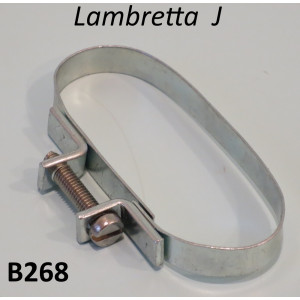 Large oval airhose clamp for Lambretta J (all versions)