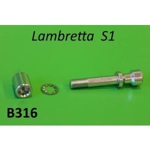Handlebar bolt + nut Lambretta S1