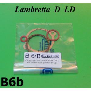 Kit guarnizioni carburatore Lambretta D + LD (tutte le cilindrate)