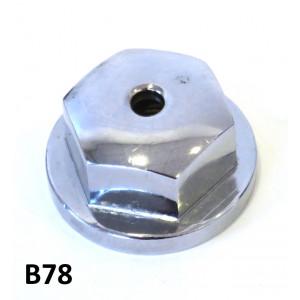 Chrome rear hub nut for Lambretta LD '55 - '57