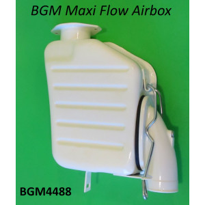 Cassa filtro 'flusso maggiorato' BGM per Lambretta S1 + S2 + S3 + GP DL + Serveta