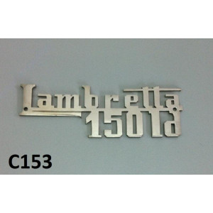 Chrome 'LD150' legshield badge