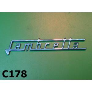 'Lambretta' legshield badge for Lambretta Special + SX150 + SX200 + J50 DELUXE