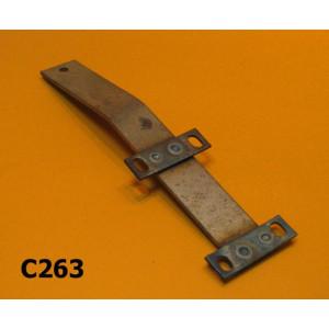 Number plate bracket Lambretta D125 + D150