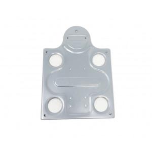 Number plate holder Lambretta D125 + D150