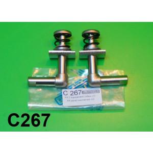 Coppia meccanismi interni per cofani Lambretta LC125 + LD125 + LD150