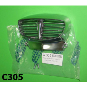 Polished horn grille Lambretta TV3 + SX + Special
