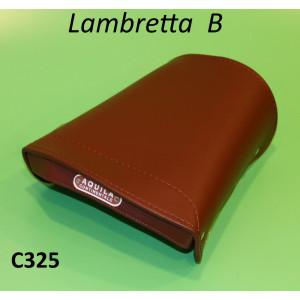 Brown rear seat cover Lambretta B