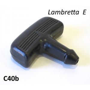 Rubber pull starter handle for Lambretta E