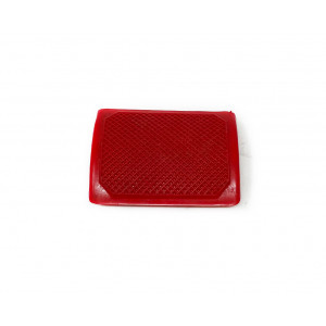 Red rear brake pedal rubber Lambretta S1 + S2 + S3 + SX + DL + J