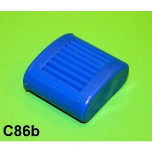 Blue kickstart pedal rubber