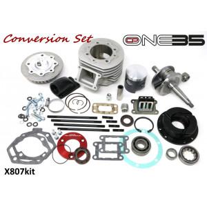 Casa Performance CP One35 full conversion kit Lambretta J + Vega 4 speed engine