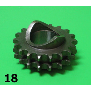 High quality 18T front sprocket