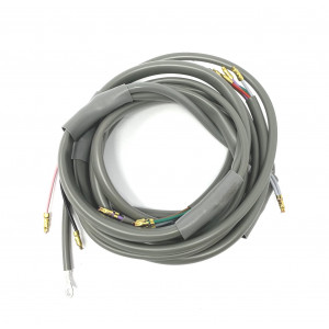Wiring loom D.C. for battery models Lambretta S3 + TV3 +  Special + SX (for 2 or 3 wire stoplight switch)