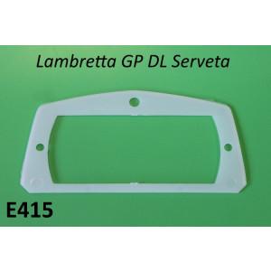 Plastic gasket for rear light lense Lambretta GP + Serveta
