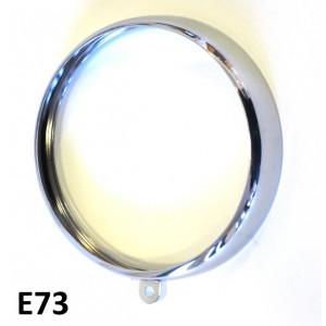 Chrome headlight rim Lambrettino 48