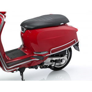 Pair of chrome 'Florida' sidepanel protection bars for Lambretta V-Special 50 - 125 - 200