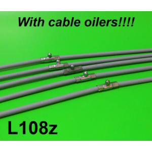 Complete cable set with grease nipples