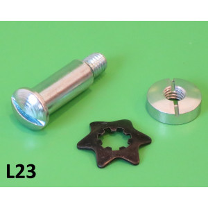 Lever pin with star washer