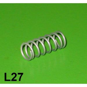 Levers anti-vibration cap spring Lambretta S1 + S2 + S3 + SX + DL/GP + J + Vega