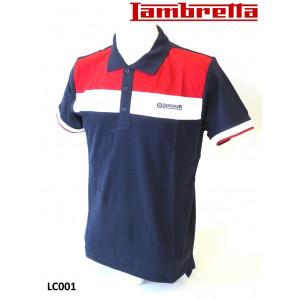 Lambretta 'Pique' Polo shirt (Blue)