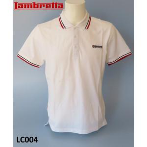 Lambretta 'Classic' Polo shirt (White)