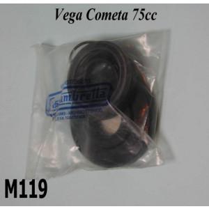 Complete engine oilseal set for Lambretta Lui Vega Cometa 75cc